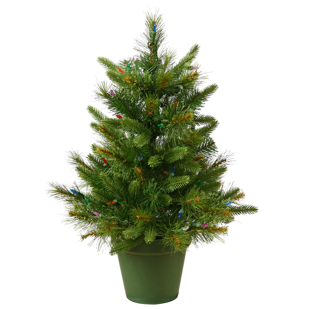 Narrow Artificial Christmas Trees
