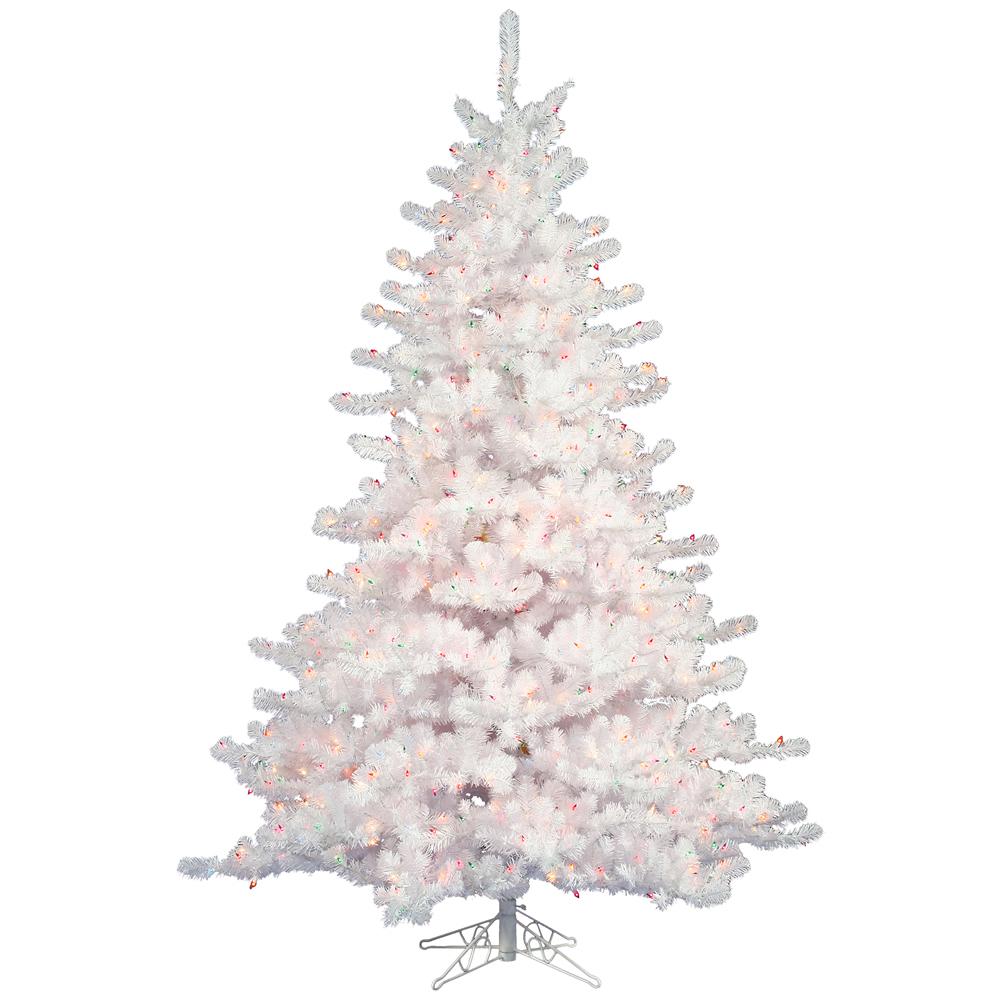 White Christmas Tre: White Christmas Trees