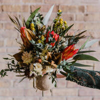 Picture of Boho Burlap Bouquet