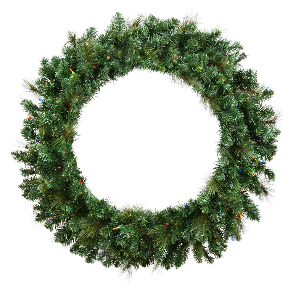 "60"" Mixed Brussels Pine Wreath 780T"