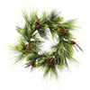 "Photograph of 24"" Boulder Pine Wreath"