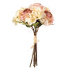 "Photograph of 13"" Cream Pk Rose Hydrangea Bundle 2/pk"