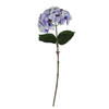 "Photograph of 18"" Purple Hydrangea Spray 4/Pk"