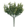 "Photograph of 3"" Mini Mixed Leaf Bush UV Coated 3/Pk"