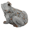 "8"" Gray Frog Outdoor Garden"