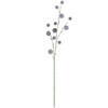 "Photograph of 31"" Gray Lavender Pom Pom Spray 3/Pk"