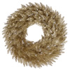 "Photograph of 48"" Champagne Fir Wreath 480T"