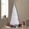 "6.5'x34"" White Slim Fir Tree 948T"