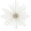 "Photograph of 12"" Champagne Starburst Orn 4/Bag"