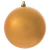 "4.75"" Gold Matte Ball UV Drilled 4/Bag"