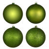 "4.75"" Olive Candy Ball UV Drilled 4/Bag"