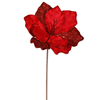 "Photograph of 16"" Red Sparkle Amaryllis Pick"